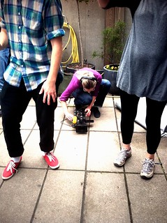 TT @ Lunchbeat - filming my feet dancing | by Petter Karlsson