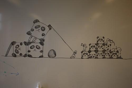 Panda cubes | by Kyrremann