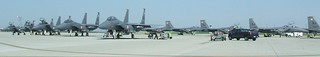 F-15's on the CRTC Tarmac
