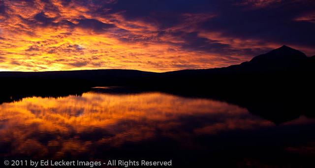 Dawn Reflections at Saint Mary Lake, Glacier National Park