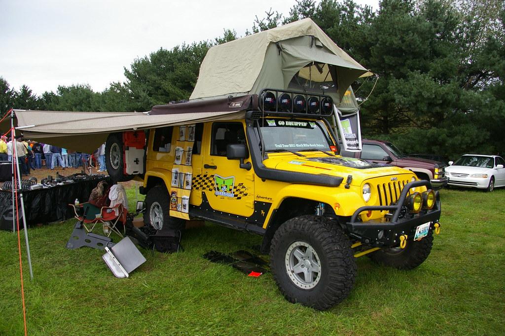 Jeep Wrangler Jkl Overland Camper Jeff Daniel S Jeep Show Flickr