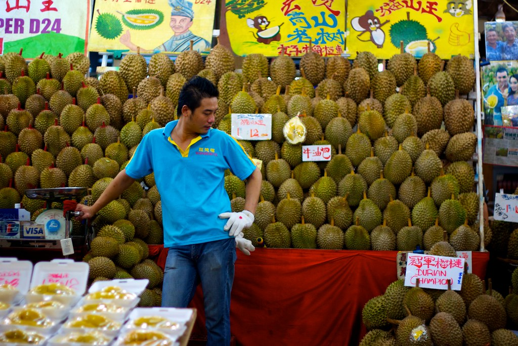 Durian Stall Images