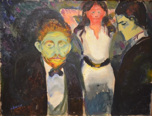 Jealousy, Edvard Munch, 1907?