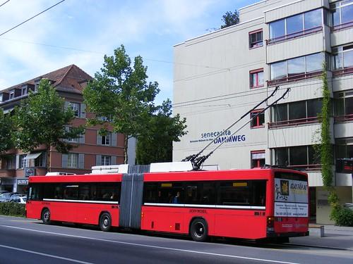 Obus, Bern Switzerland  nr 18, Linie 20,July 2011 | by sludgegulper