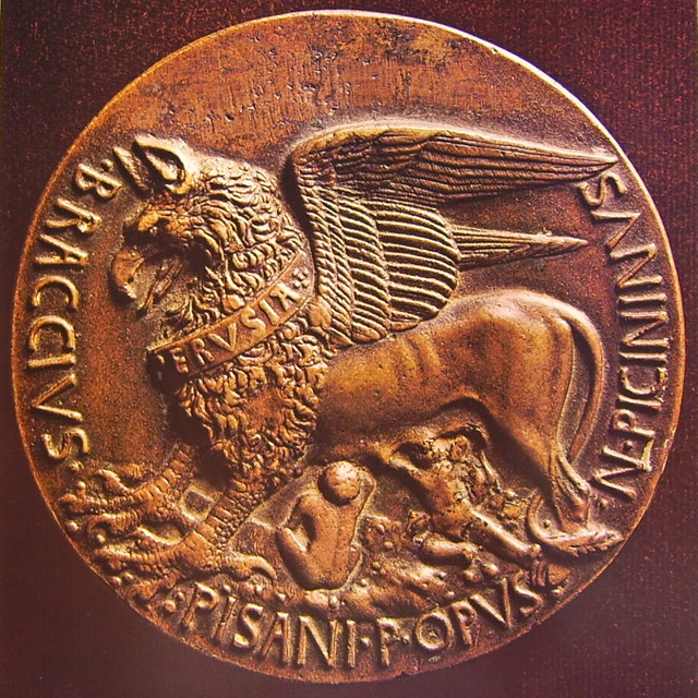 Pisanello - Medaglia di Niccolò Piccinino [1c] (1441) verso