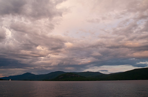 sunset lake clouds skyscape landscape day cloudy lakegeorge sagamore sigma1770os