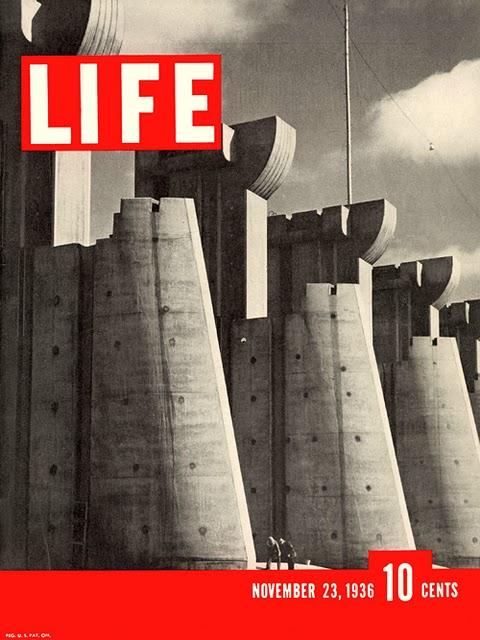 Portada de la revista LIFE, donde aparece la fotografía de Margaret Bourke-White.