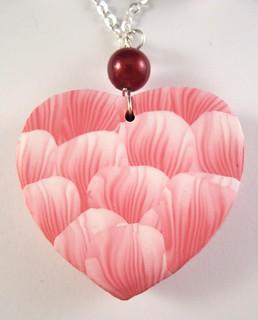 """34"" Back of heart pendant"