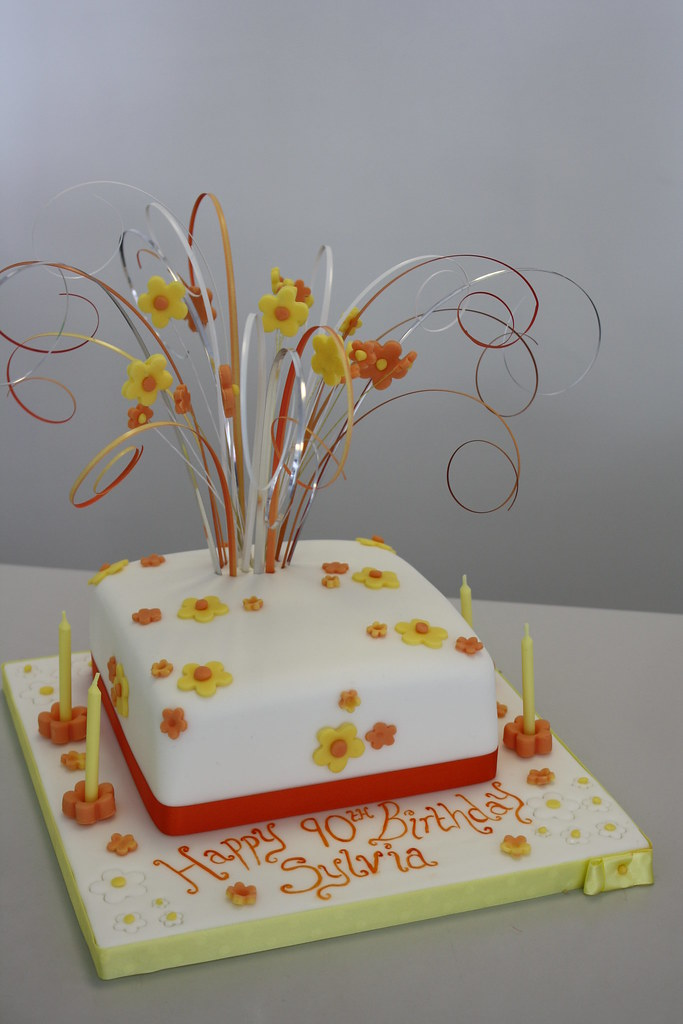 Swell Cake Daisy Birthday Cake Jules Enquiries Cakechester Co Uk Funny Birthday Cards Online Alyptdamsfinfo