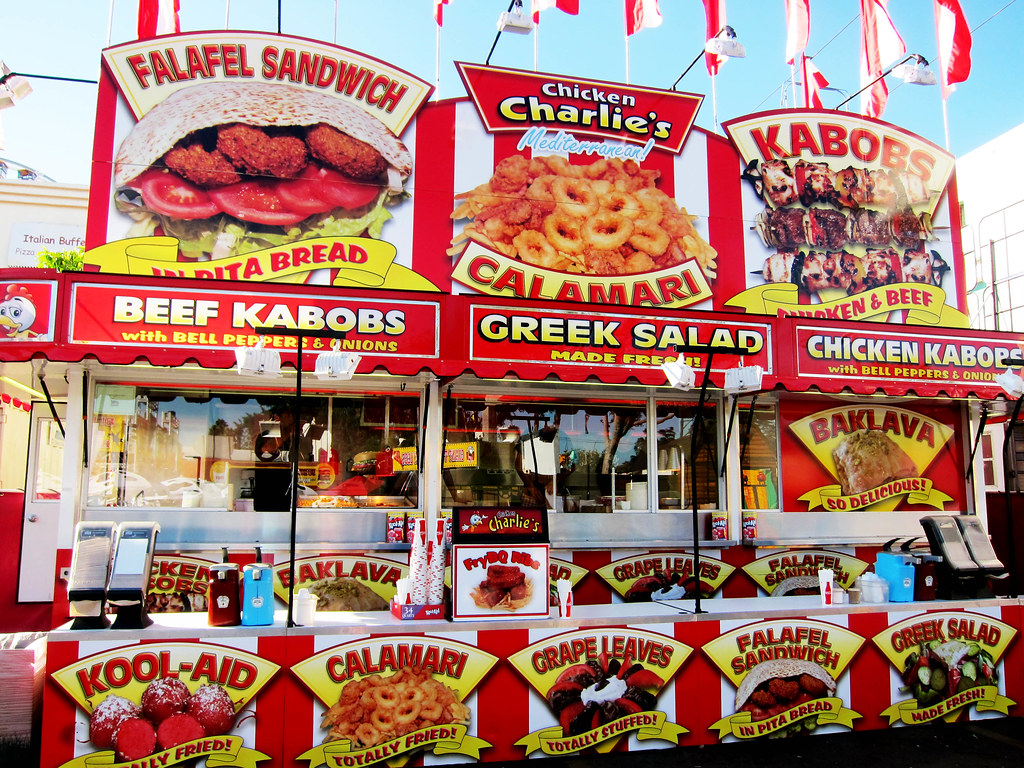 LA County Fair Food Preview | Chicken Charlie's Booth | Flickr