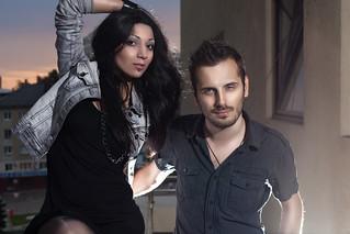 Wilhelmina Volter & Igor Inou | by Dima Bushkov