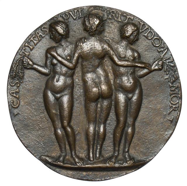 Niccolò Fiorentino - Medal 1 on Giovanna degli Albizzi Tornabuoni, verso  [1486]