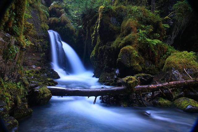 Long exposure of Virgin Creek Falls