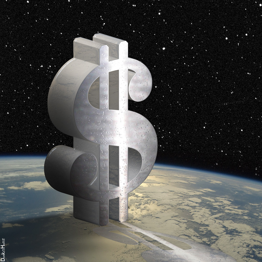 Dollar Sign in Space - Illustration | 3D dollar sign in spac… | Flickr