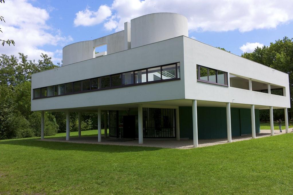 Villa Savoye   Villa Savoye - Le Corbusier & Pierre Jeannere…   Flickr