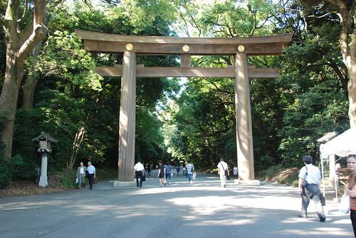 The Torii at the entrance of Meiji Jingū, 明治神宮 | by Maarten1979