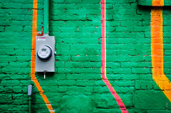 Gaia & Nanook - Livingston Avenue Mural by PaulTakesPhotos