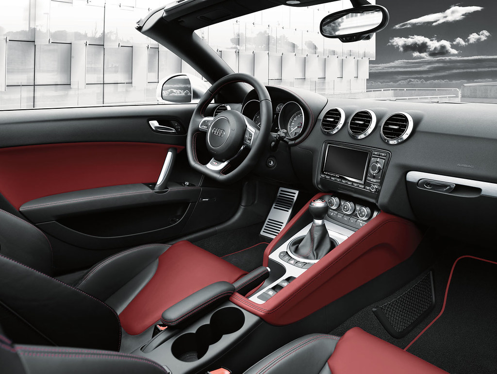 Audi Tts Couperoadster Interior Silk Nappa Leather Magma Flickr
