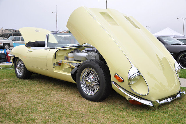 E-Type convertible