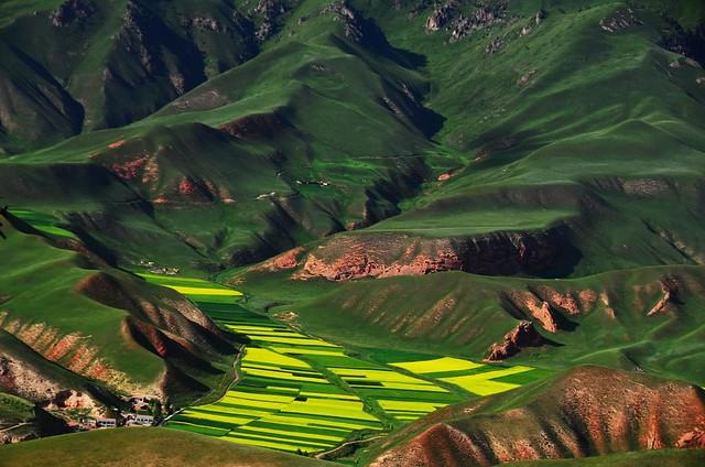 Zhuo'er mountains 卓爾山