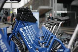Melbourne Bike Share - ANZ building Docklands | by rubixcom