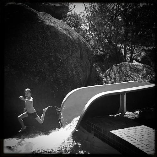 africa blackandwhite sun water fun child creative running iphone iphoneography hipstamatic