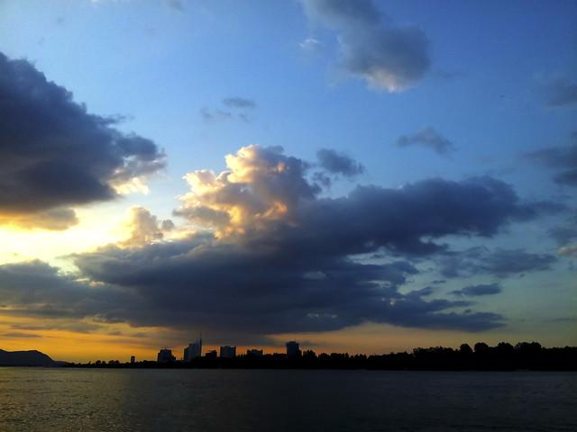 Sundown Cityscape