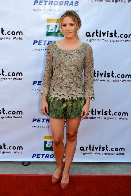 Kristen Bell at The Eighth Artivist Film Festival at the Egyptian Theater