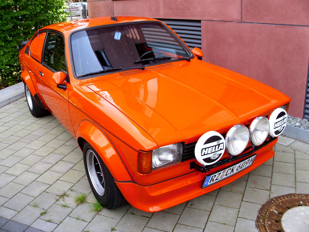 Opel Kadett C Coupe Tuning 1 A Photo On Flickriver