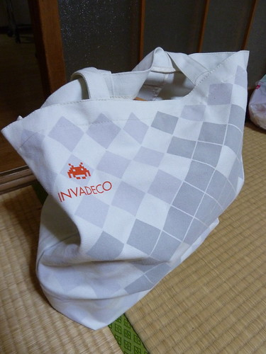 Sweet tote bag from Taito station | by kalleboo