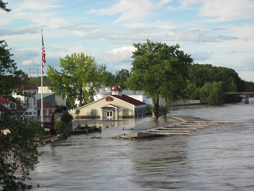 Flooding in Schenectady, New York - August 29, 2011 | by Dougtone