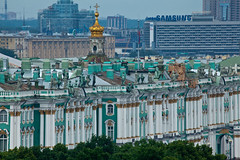 Winter Palace from St. Isaac's Cathedral