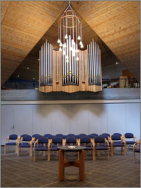 Peter Conacher & Co, Huddersfield (1899). Organ at Vassenden kyrkjesenter, Norway. Photo: Manualman, 2011 (c) All rights reserved.