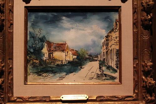 oklahoma painting landscape fauvism fredjonesjrmuseumofart mauricedevlaminck