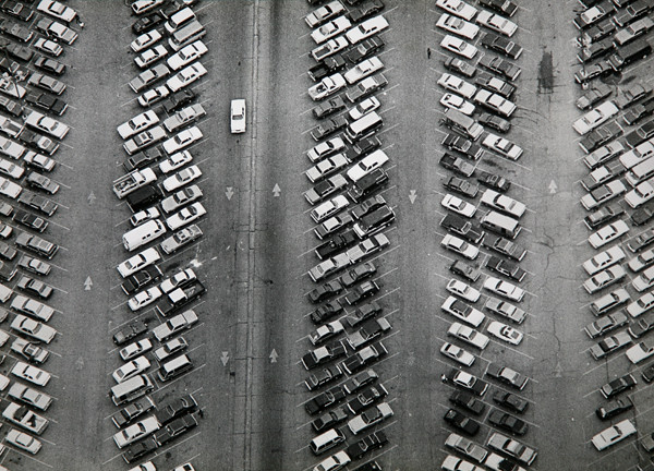 parking lot aerial