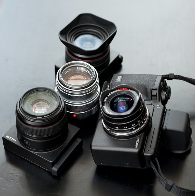 RICOH GXR MOUNT A12 My Useful set for traveling