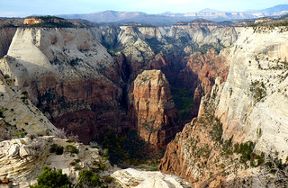Angels Landing from the Deertrap Mountain Trail | by ZionNPS