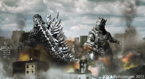 Kiryu vs Godzilla