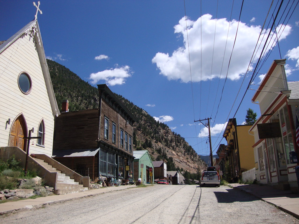Silver Plume Co >> Downtown Silver Plume Colorado This Historic Downtown Dis