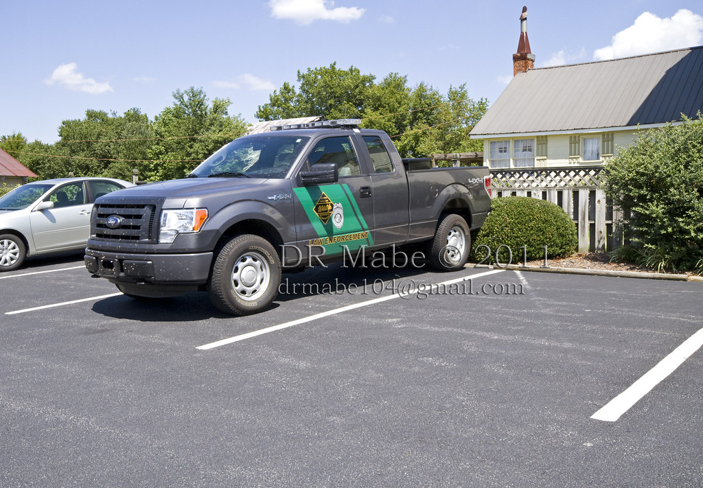 Nc Game Warden Wildlife Law Enforcement Truck In East Be