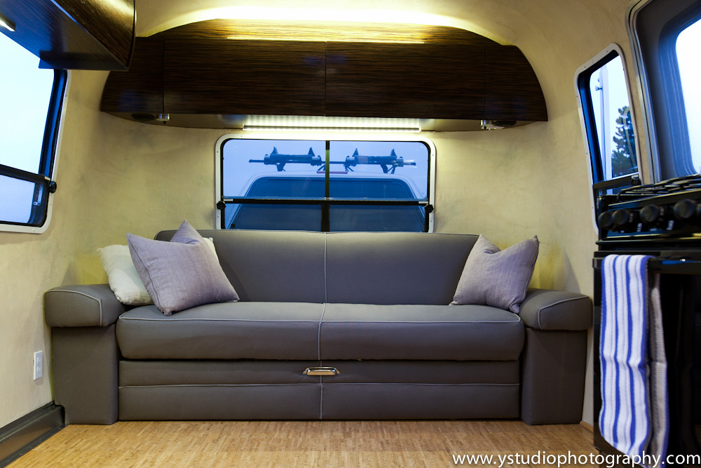 Prime Airstream Couch Doubles As Sleeper With Organic Fabric Flickr Creativecarmelina Interior Chair Design Creativecarmelinacom