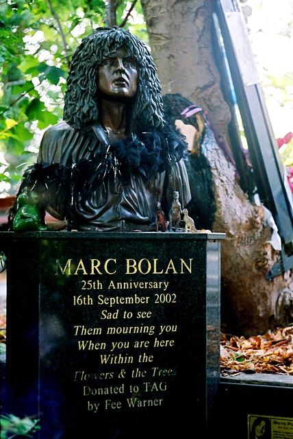 Marc Bolan Tree Shrine