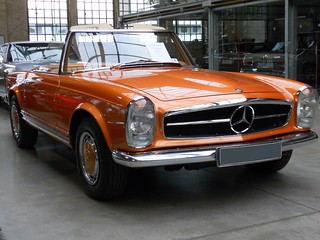 Mercedes-Benz 280 SL W113 (1970) | by Transaxle (alias Toprope)