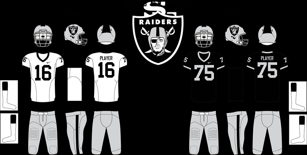 factory authentic 280fe 0a295 Oakland Raiders New Uniforms | PMell2293 | Flickr