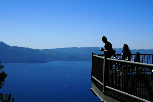 Visitors Taking Pictures from Heavenly's Deck | by Tahoe South