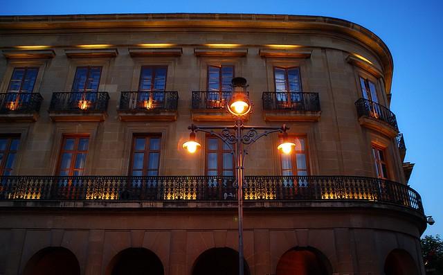 Balcones iluminados
