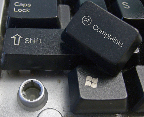 Complaints button | by FindYourSearch