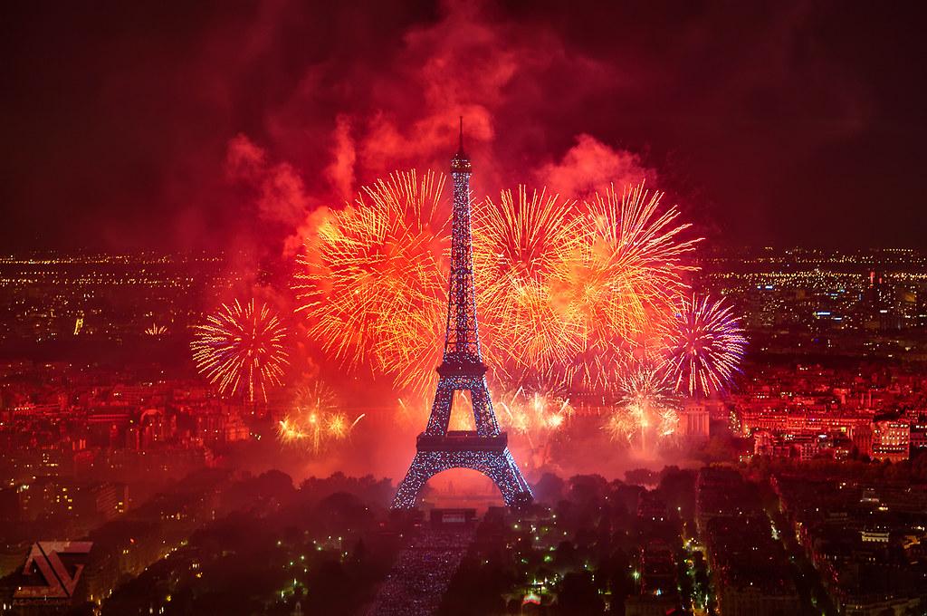 Dia de la Bastilla Paris