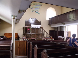 Black Country Living Museum - Darby Hand Chapel - inside the chapel - Pew and Pulpit | by ell brown