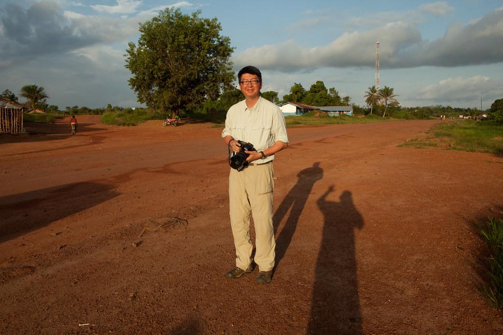 Together Liberia Project  - Rivercess Trip - Car ride